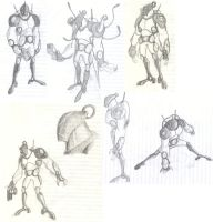 sixsix sketchdump by Underbase