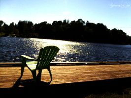 Muskoka Chair Edit by AntoinetteLeChat
