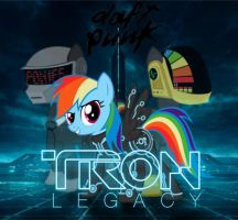 MLP Tron Legacy soundtrack cover by Bronyfan4269