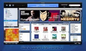 Black Glacier for iTunes 7 by deelo