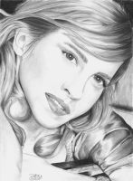 Emma Watson in Graphite by jhogo