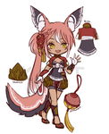 MYO lacie trade with rins by Kaiet