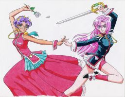 Utena Fanart, Completed by the-peppermint-kid