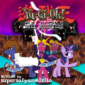 My Little Duel Monsters Cover Art by supersaiyanmikito
