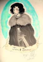 Jon Snow-GoT by Ale-L
