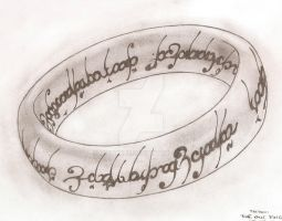 TATTOO The One Ring by MistyQue
