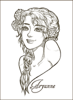 Commission: Portrait Aryanne by MiniLeiProductions