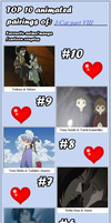 My Top 10 Couples part VIII by J-Cat