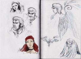 sketches :) by MoonLightRose17