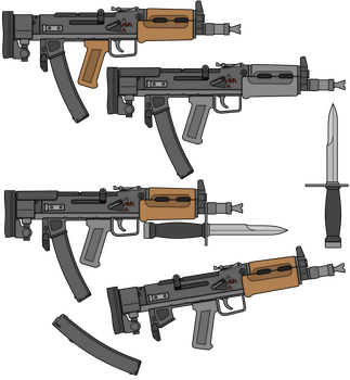 BK-7 Rupian PDW by TheFrozenWaffle