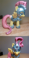 My Little Crystal Joust Fluttershy by mooncustoms