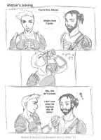 DAO - Alistair's Joining pg 1 by Ahr0