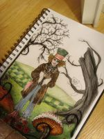 The Mad Hatter WIP by smoofay