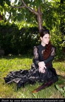 Victorian Roses Stock II by DanielleFioreModel