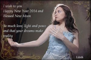 Blessed New Year by Lilinaceleste