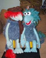 Boober and Sage Fraggle by Negaduck9