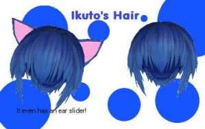 Ikuto's Hair by BlueSoul17