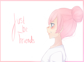 Just be friends by OrenjiiBUTT