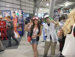 Supanova 2013 - N and Hilda by fulldancer-alchemist