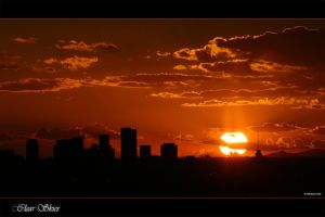 Phoenix Sunset - Clear Skies by MilchstrabeSTern