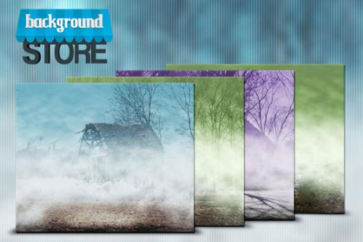 Free Foggy Background by BackgroundStore
