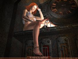 An evening by candlelight by rlcwallpapers