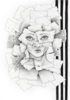 Paper face by SaYoda