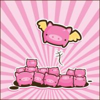 The Flying Pig by SquidPig