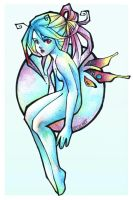 butterfly girl by loish