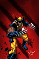 Savage wolverine colors by JoeyVazquez