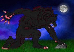 Werewolf by DragonFire782001