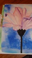flower watercolour by ali-is-colourful