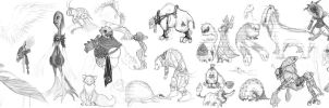 Creatures by Sohym