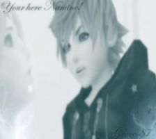 Roxas Namine Your Here by Graces87