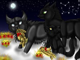 Chirstmas in the Clans by NyraXerz