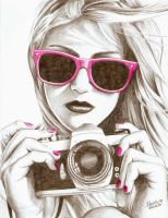Camera Girl by DanielleHope