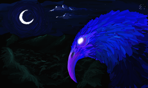 Spirit Eagle of the Forest by DragonLindy