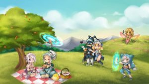 Sia and Camogie Family by yolichan