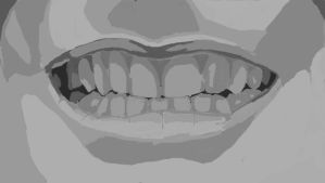 Study of mouth by Chickenlover13