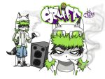 Spliff Raccoon by ozmo420