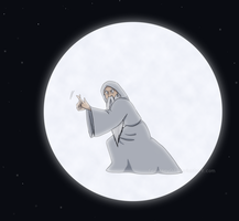 The Man In The Moon by FEuJenny07