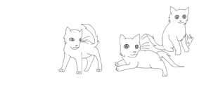 CM: kits lineart for BKT by Shadowpaw909