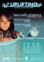 Flyer - Melanie Morena by homeaffairs