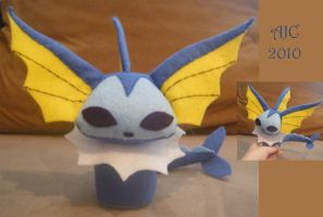 Chibi Vaporeon Plush by LeluDallas