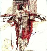 Crucifixion II Study by Philliewig