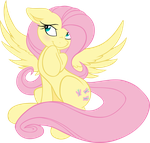 I'm Fluttershy Vectorized by TheJedyates