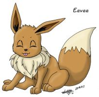 Eevee Playful by louisalulu