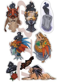 stickers by DaryaBler