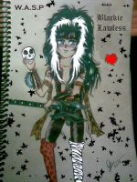 Chibi Blackie Lawless by Glammed-dreams
