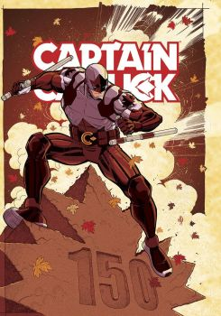 Captain Canuck East Coast Comic Expo 2017 Cover by AdamMartinColours